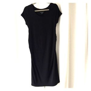 Liz Lange Maternity black dress